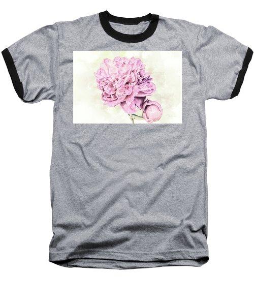 10861 Spring Peony Baseball T-Shirt