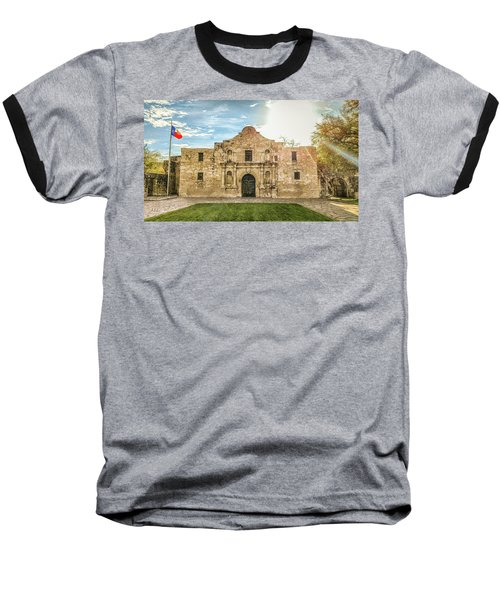 10862 The Alamo Baseball T-Shirt by Pamela Williams