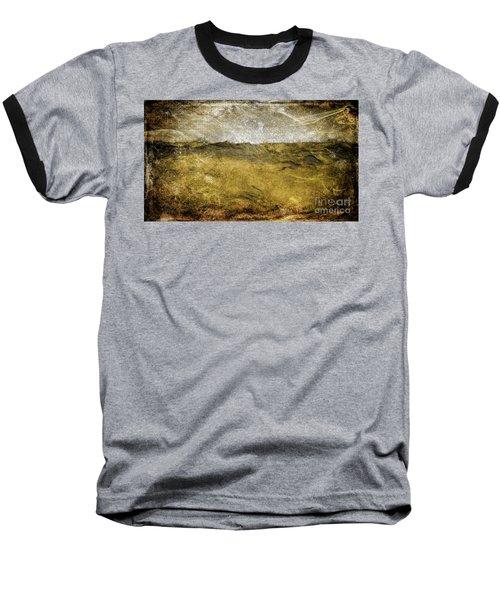 10b Abstract Expressionism Digital Painting Baseball T-Shirt