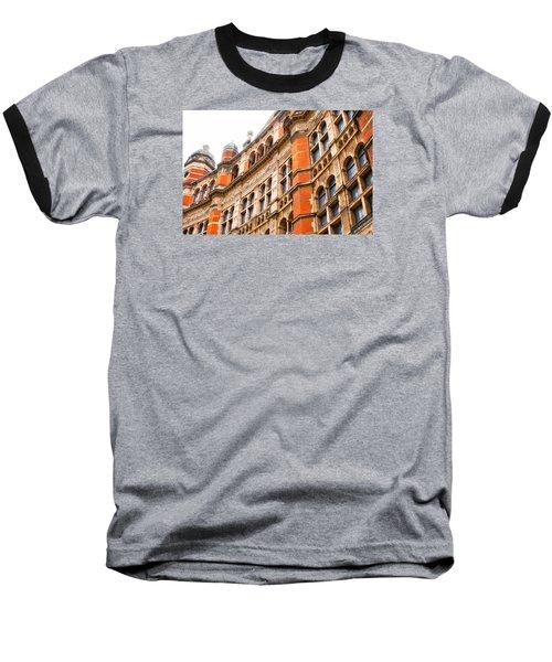 London Building Baseball T-Shirt
