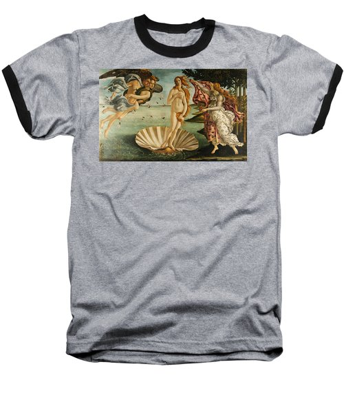 The Birth Of Venus Baseball T-Shirt