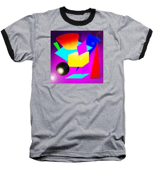 110a Baseball T-Shirt by Timothy Bulone