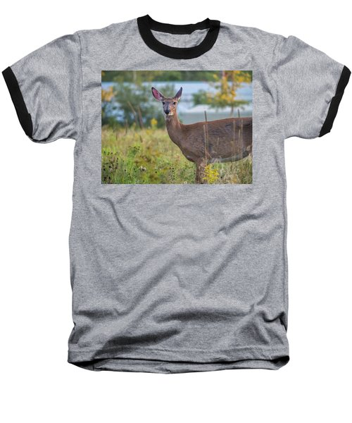 Baseball T-Shirt featuring the photograph Down East Maine  by Trace Kittrell