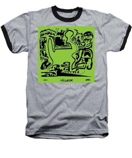 12 Lines Baseball T-Shirt