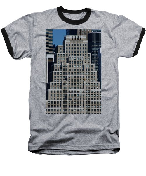 120 Wall Street Nyc Baseball T-Shirt