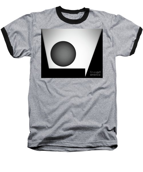 Baseball T-Shirt featuring the digital art 1207 2017 by John Krakora