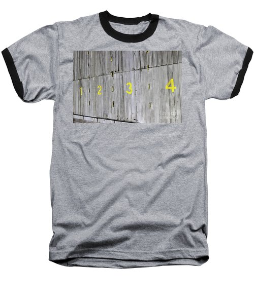 Baseball T-Shirt featuring the photograph 1234 by Stephen Mitchell