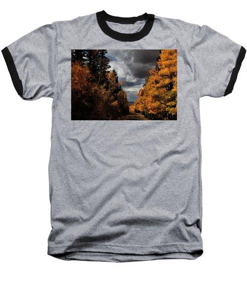 Rocky Mountain Fall Baseball T-Shirt
