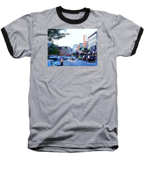 125th Street Harlem Nyc Baseball T-Shirt by Ed Weidman