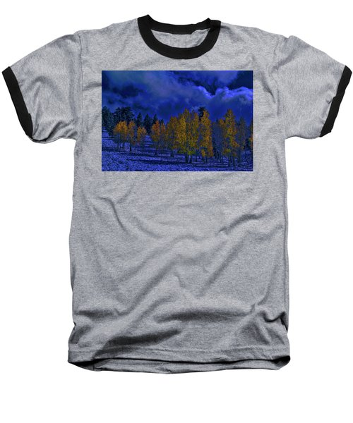 Rocky Mountain Fall Baseball T-Shirt