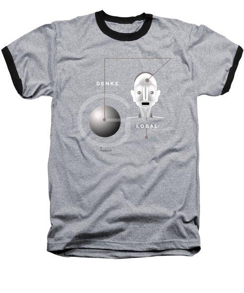 1276 - T Shirt Denke Global Baseball T-Shirt