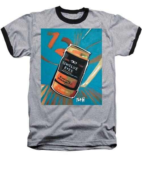 12welve Eyes Baseball T-Shirt