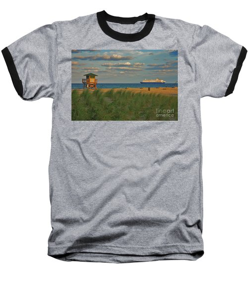 Baseball T-Shirt featuring the photograph 13- Cruising In Paradise by Joseph Keane