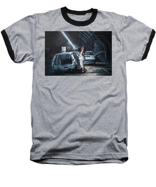 Baseball T-Shirt featuring the photograph Giulia by Traven Milovich