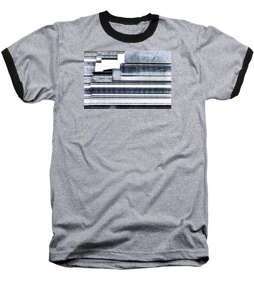 Metal Bars Baseball T-Shirt
