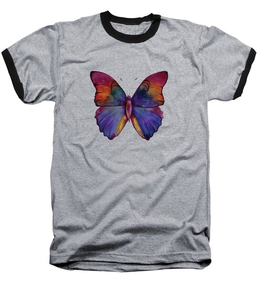 13 Narcissus Butterfly Baseball T-Shirt by Amy Kirkpatrick