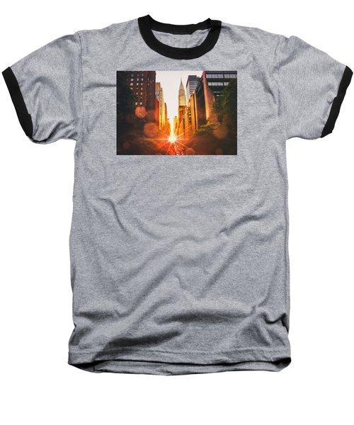 New York City Baseball T-Shirt by Vivienne Gucwa