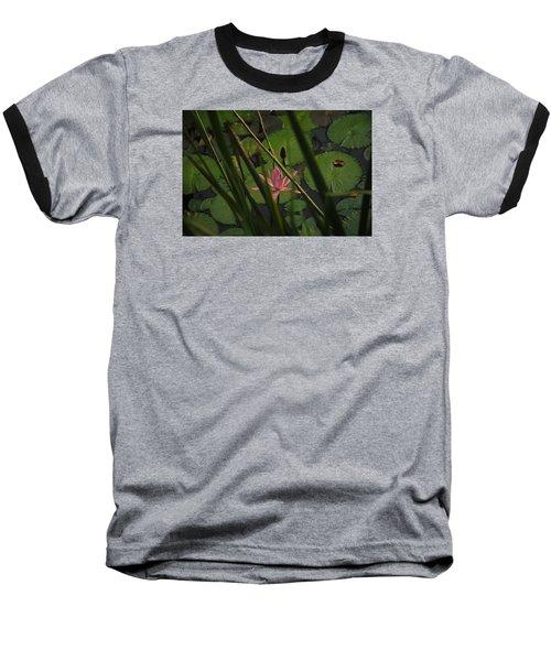 Water Lilly Baseball T-Shirt