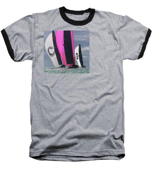 Watercolors Baseball T-Shirt