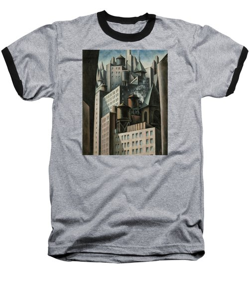 14th Street New York City Baseball T-Shirt