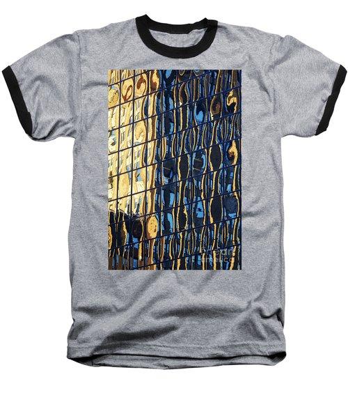 Abstract Reflection Baseball T-Shirt