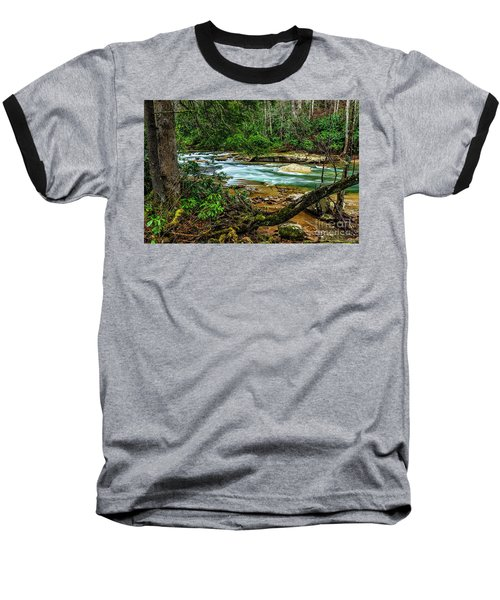 Baseball T-Shirt featuring the photograph Back Fork Of Elk River by Thomas R Fletcher