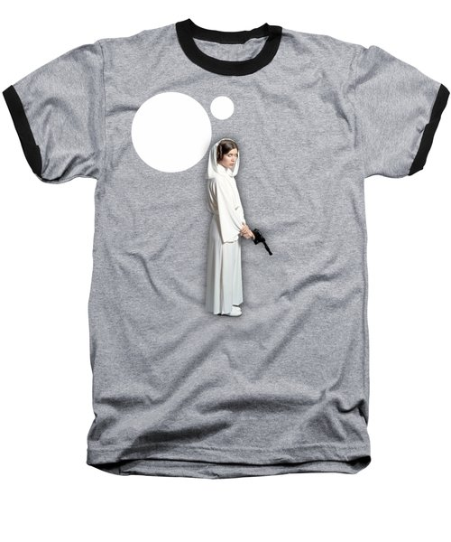 Star Wars Princess Leia Collection Baseball T-Shirt by Marvin Blaine