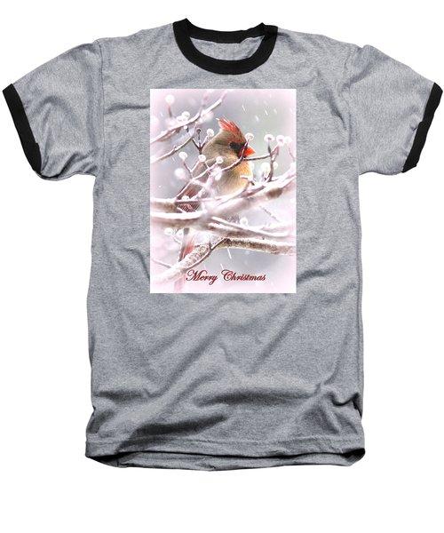 1554-003 Cardinal Baseball T-Shirt