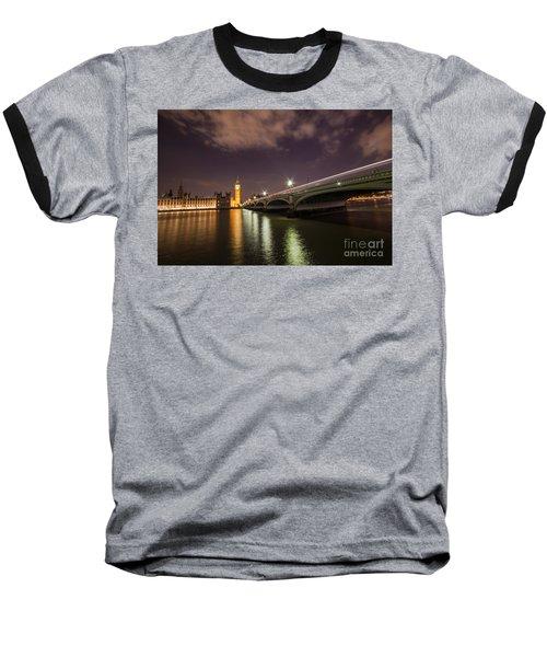London Baseball T-Shirt by Mariusz Czajkowski