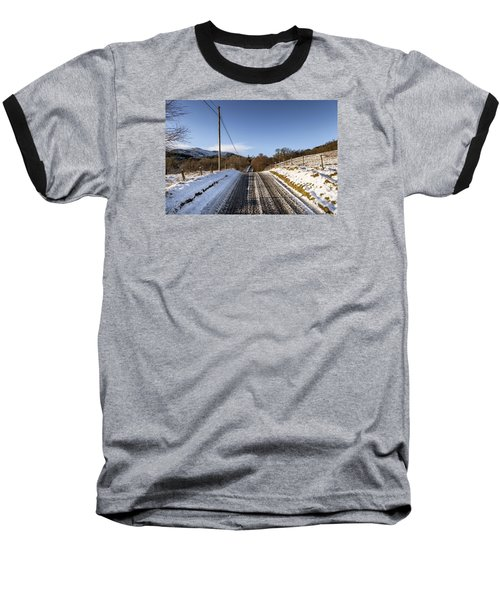 Trossachs Scenery In Scotland Baseball T-Shirt