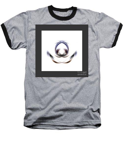 Baseball T-Shirt featuring the digital art 165-2015 by John Krakora