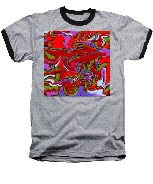 1695 Abstract Thought Baseball T-Shirt
