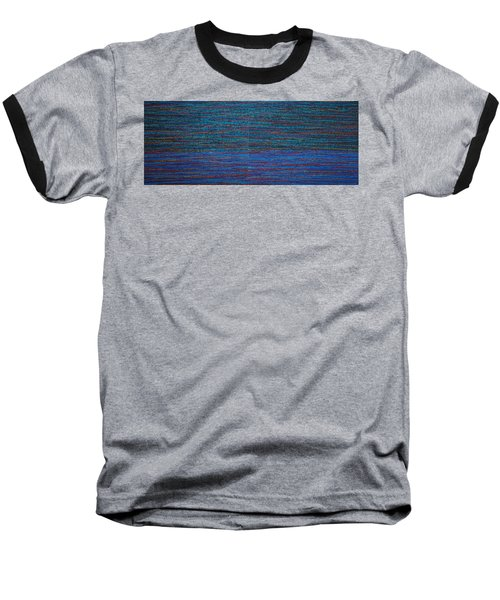 Baseball T-Shirt featuring the painting Identity by Kyung Hee Hogg