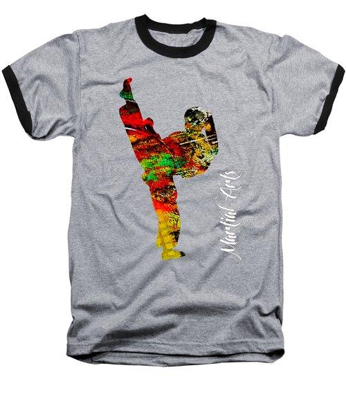Martial Arts Collection Baseball T-Shirt