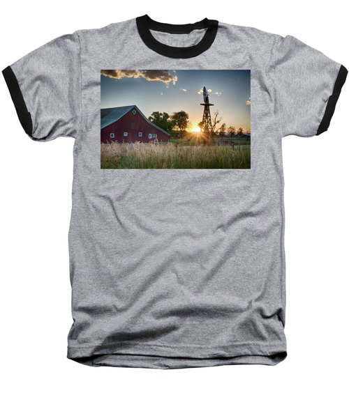 17 Mile House Farm - Sunset Baseball T-Shirt