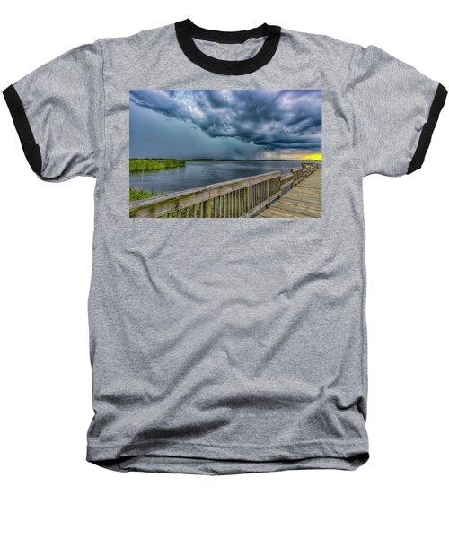 Storm Watch Baseball T-Shirt