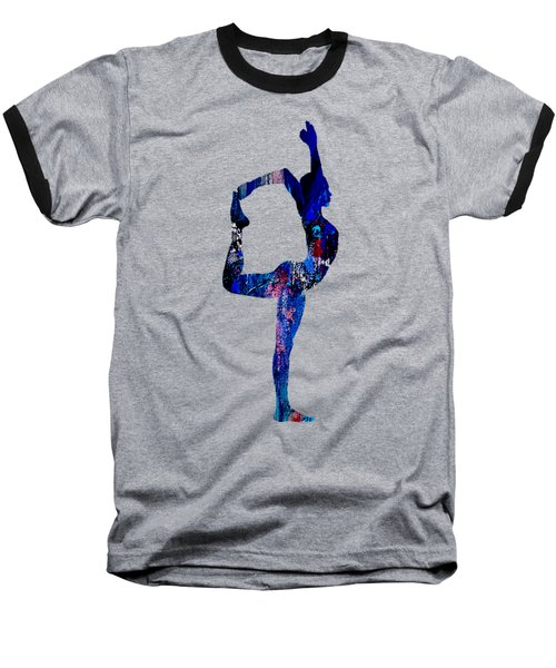 Yoga Collection Baseball T-Shirt by Marvin Blaine