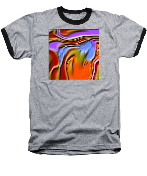 1765 Abstract Thought Baseball T-Shirt