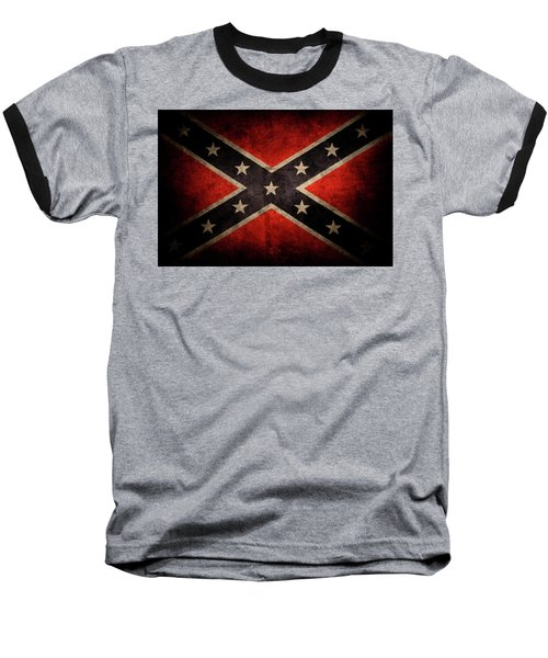 Confederate Flag 7 Baseball T-Shirt