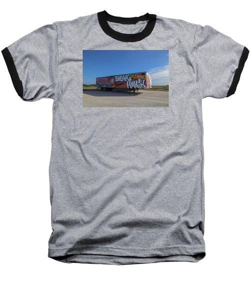 18 Wheeler Art Baseball T-Shirt
