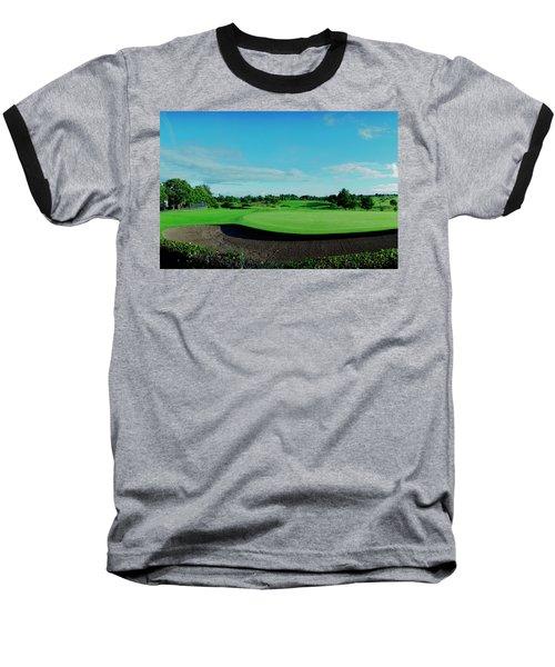 18th Bunker Baseball T-Shirt by Jan W Faul