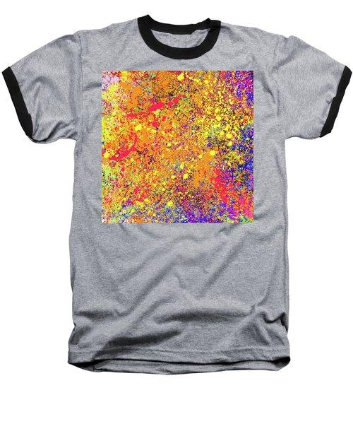 Abstract Composition Baseball T-Shirt