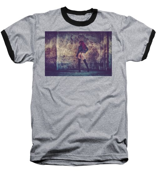 Baseball T-Shirt featuring the photograph Pretty Things Are Going To Hell by Traven Milovich