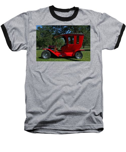 1909 Ford Model T Limo Custom Hot Rod Baseball T-Shirt