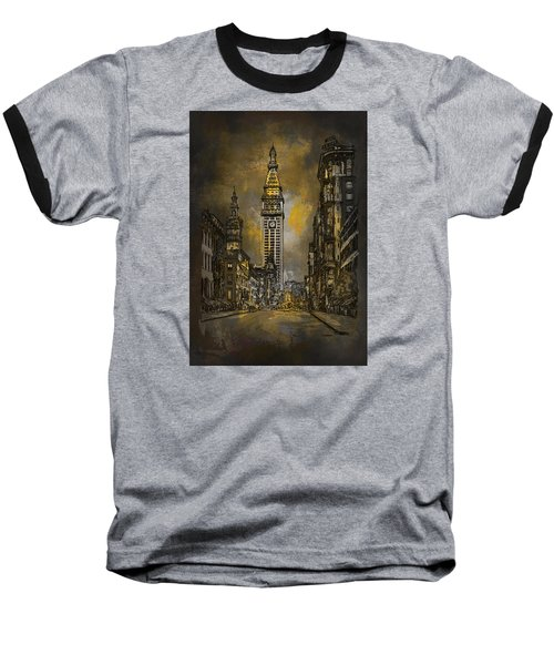 1910y Madison Avenue Ny. Baseball T-Shirt