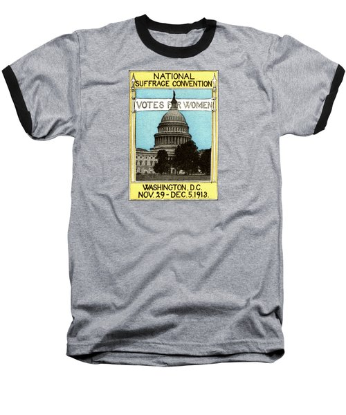 1913 Votes For Women Baseball T-Shirt by Historic Image