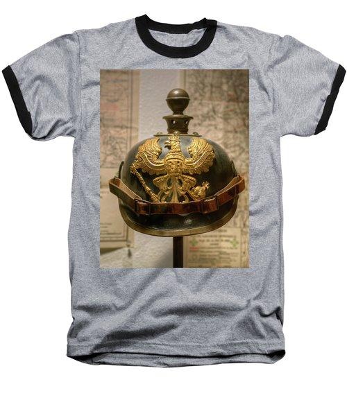 1915 Prussian Artillery Spiked Pickelhaube Helmut Baseball T-Shirt