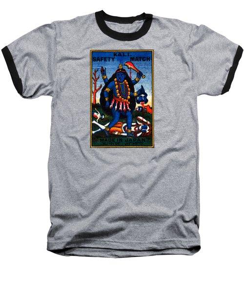 1920 Hindu Goddess Kali Baseball T-Shirt