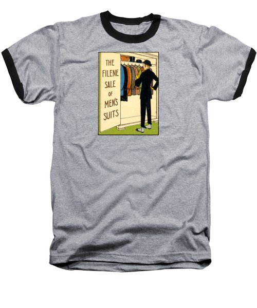 Baseball T-Shirt featuring the painting 1920 Mens's Suites On Sale by Historic Image
