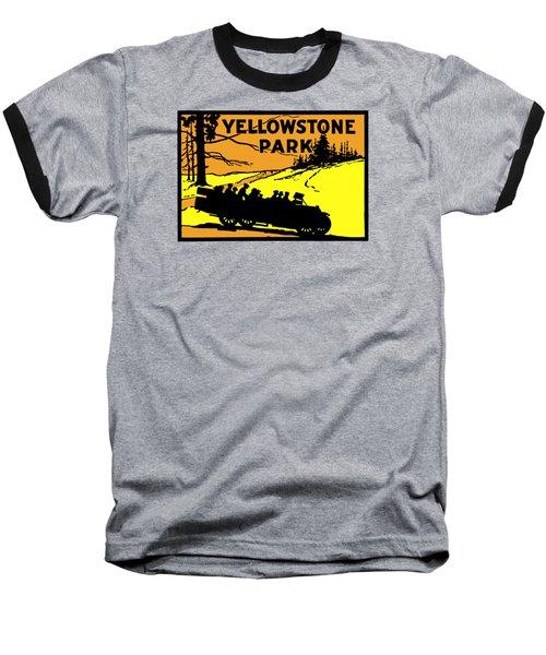 1920 Yellowstone Park Baseball T-Shirt by Historic Image
